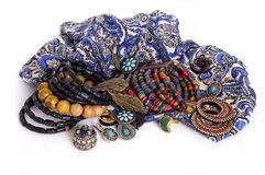 Jewelry in ethnic style Stock Image