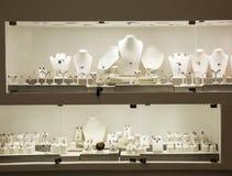 Jewelry exebition, collection of precious, Ceylon Royalty Free Stock Photos