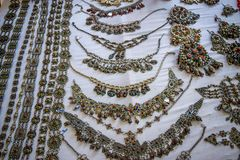The jewelry festival ath yenni Stock Photos