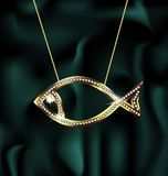 Jewelry fish Stock Photos