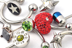 Jewelry For Piercing Stock Photography