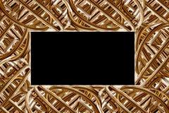 Jewelry frame stock photo