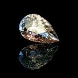Jewelry gems pear shape Stock Image