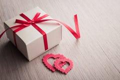 Jewelry gift box Stock Photos