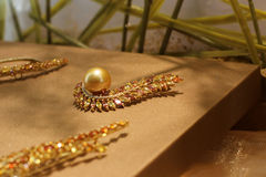 Jewelry. A glittering and translucent jewelry Stock Image