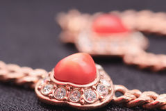 Jewelry gold stock images