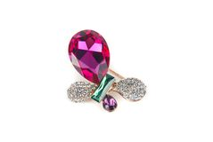 Jewelry hairpin-butterfly Royalty Free Stock Photos