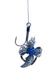 Jewelry Hanging On Fishing Hook Stock Photography