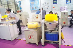 Jewelry and jade processing machinery exhibition sales Stock Image