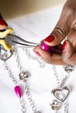 Jewelry making as a hobby #3 Stock Image