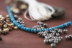 Jewelry making supplies Stock Photography