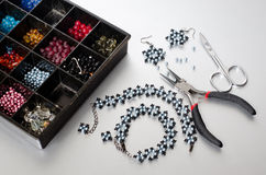 Jewelry making Stock Image