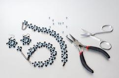 Jewelry making Stock Image