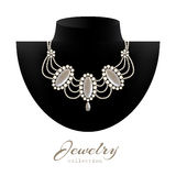 Jewelry necklace Stock Photography