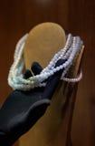Jewelry Necklaces Stock Photo