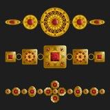 Jewelry ornaments Stock Photos