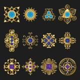 Jewelry ornaments Stock Photo
