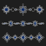 Jewelry ornaments Royalty Free Stock Images