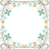 Jewelry pattern border Stock Image