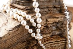 Jewelry, Pearl, Necklace, Chanel Stock Photo