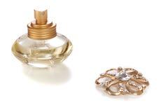 Jewelry and perfume Stock Photo