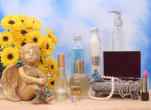 Jewelry and Perfume Royalty Free Stock Images