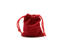 Jewelry red bags. Royalty Free Stock Image