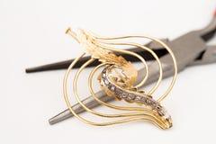 Jewelry Repair Stock Photo