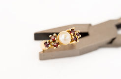Jewelry Repair Stock Image