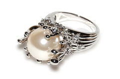 Jewelry ring isolated Royalty Free Stock Photo