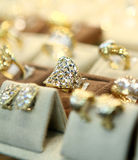 Jewelry rings Stock Photography