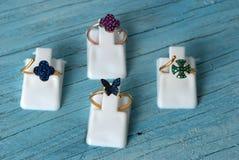 Jewelry rings Stock Photo