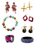 Jewelry set Stock Photography
