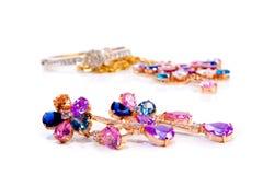 Jewelry set royalty free stock photo
