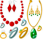 Jewelry set Royalty Free Stock Photography