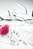 Jewelry Set stock photo