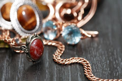 Jewelry Set Stock Images