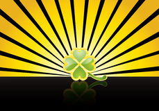 Jewelry shamrock Stock Image