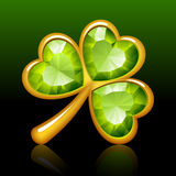 Jewelry shamrock Stock Photography