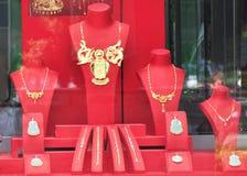 Jewelry shop Stock Photos
