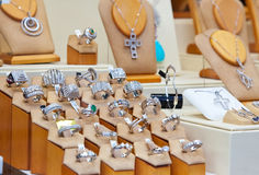 Jewelry shop Stock Image