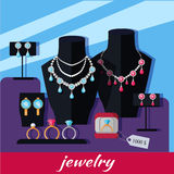Jewelry Shop Banner Stock Photos