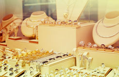 Jewelry shop Stock Photo