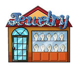 A jewelry shop Stock Image