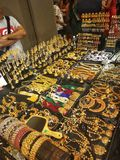Jewelry. Shop Singapore gold silver Royalty Free Stock Photo