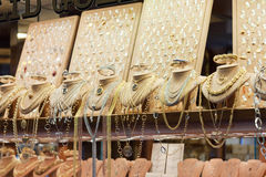 Jewelry shops on the Ponte Vecchio Stock Images