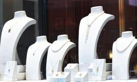Jewelry shopwindow Stock Photo