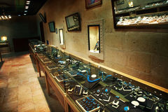 Jewelry store Stock Image