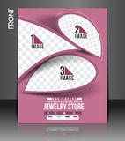 Jewelry Store Flyer Royalty Free Stock Photo