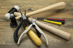 Jewelry tools Royalty Free Stock Images
